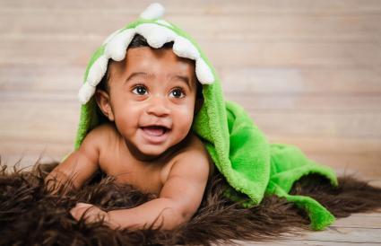 boy wearing bath robe