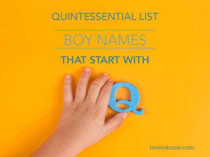 Boy Names That Start With Q: The Quintessential List