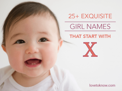 Exquisite Girl Names That Start With X