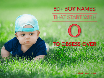 Boy Names That Start With O to Obsess Over