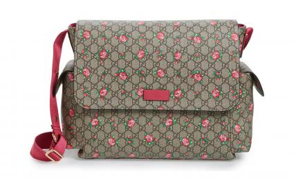 Gucci GG Star Print Diaper Bag