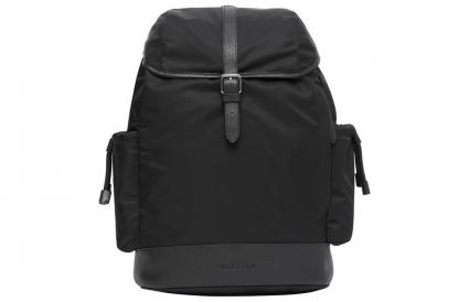 Burberry Leather Trim Baby Changing Backpack