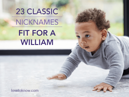 Classic Nicknames Fit for a William