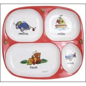 Baby Cie Melamine Divided TV Dinner Tray