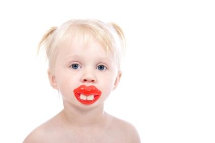 Funny Two Front Teeth Pacifier
