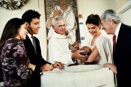 Le rite extraordinaire du baptême