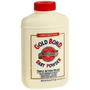 Talco infantil medicinal Gold Bond