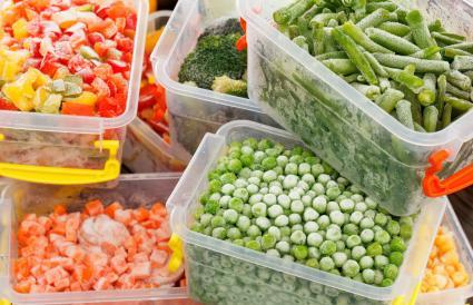 Alimentos congelados recetas vegetales