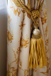 Curtain with Tassel