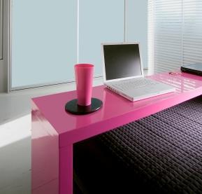Black and Pink Polka Dot Comforter