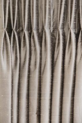 pinch pleat draperies