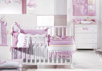 Personalized Bedding for Baby Furniture