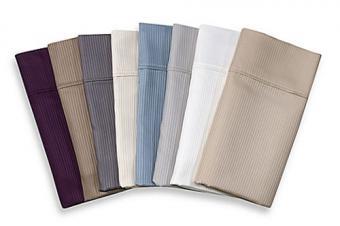 Eucalyptus Origins™ Tencel® Lyocell 500-Thread-Count Stripe Sheet Set