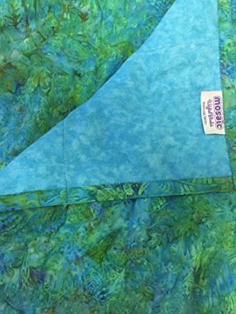 Mosaic Weighted Blanket Teen/Adult - Blue Batik