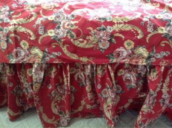 Vintage Ralph Lauren Floral Bedskirt