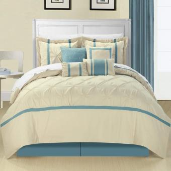 Chic Home 8-Piece Vermont Embroidered Comforter Set
