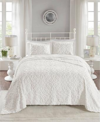 Tufted Cotton Chenille Bedspread Sets