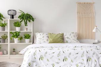 Green Bedroom Décor