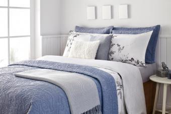 Blue Bedroom Décor