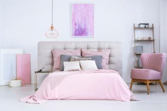 Pink/Purple Bedroom Décor
