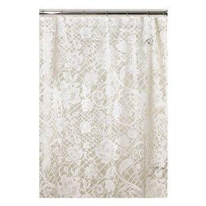 Shower Curtains Vintage Style Home Design Living Room Furniture