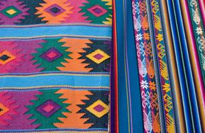 Southwestern colors and prints