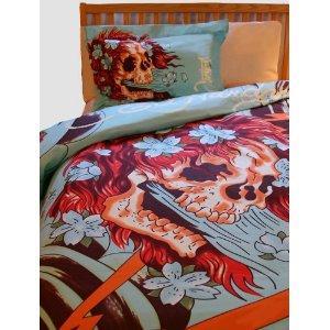 Ed Hardy Skull Bedding