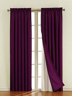 Sound Asleep™ Blackout Window Curtain Liner at Bed Bath & Beyond