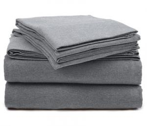 Pinzon Heather Jersey Sheet Set