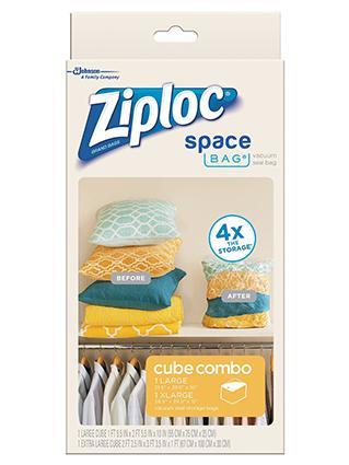 Ziploc Storage Cubes