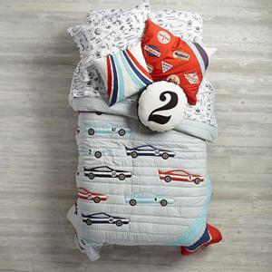 Pit Crew Bedding at Land of Nod