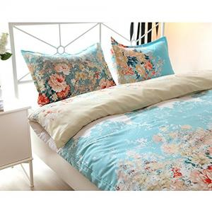 Vaulia Lightweight Cotton Blend Duvet Cover Set