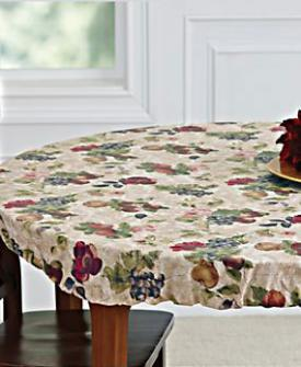 Elasticized Table Cover at Blair