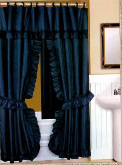 Splendor Double Swag Shower Curtain Curtain Menzilperde Net