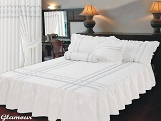 Ambiance Super King Size Fitted Bedspread