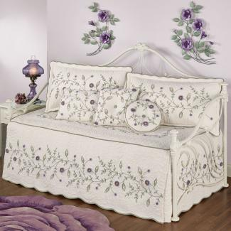 Blossom Floral Quilted Daybed Bedding Set at Touch of Class