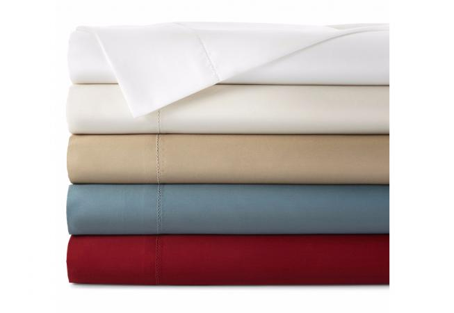 Royal Velvet Wrinkle-Free Damask Sheet Set