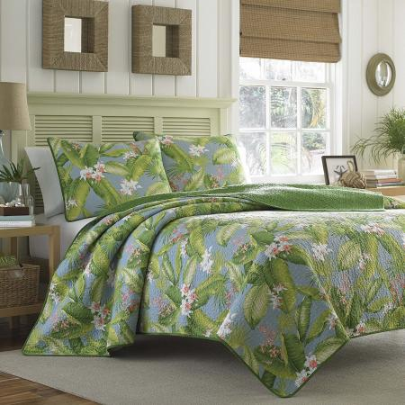 Tommy Bahama Quilt Set