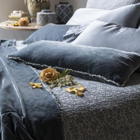 Silk Velvet Collection- Lumbar Throw