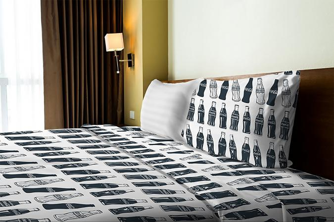 Coca-Cola Bottle Sheet Set