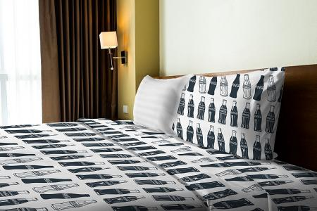 Twin Bottle Bedding Set