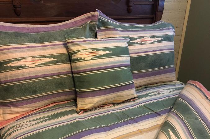 Vintage Ralph Lauren Southwest Sarape Bedding