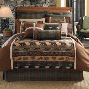 Cabin Theme Bedding