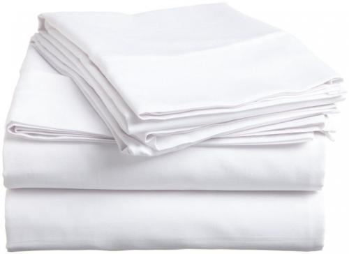 Rajlinen 100% Percale Cotton Sheet Set