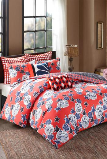 Josie Diamond Geo Comforter Mini Set