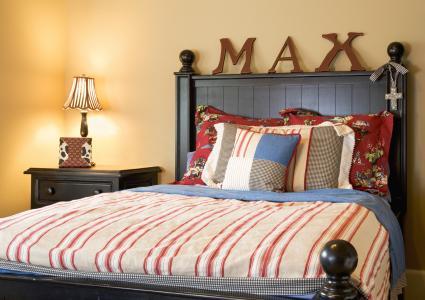 Decorated Boy's Bedroom