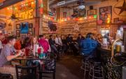 Interior of Fox Bros Bar-B-Q photo by James Camp photography
