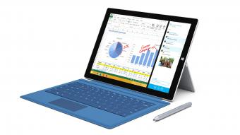 Microsoft Surface Pro 3 laptop computer