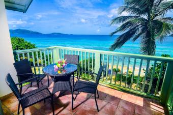 Long Bay Beachfront Balcony View