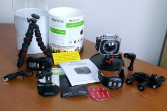 Vivitar DVR988HD box contents